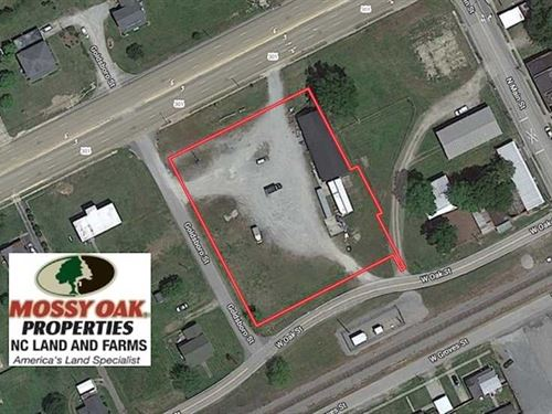 1.25 Acres of Commerical Land For : Lucama : Wilson County : North Carolina
