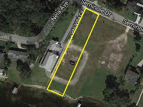 Lakefront Residential Land / Lot : Belle Isle : Orange County : Florida