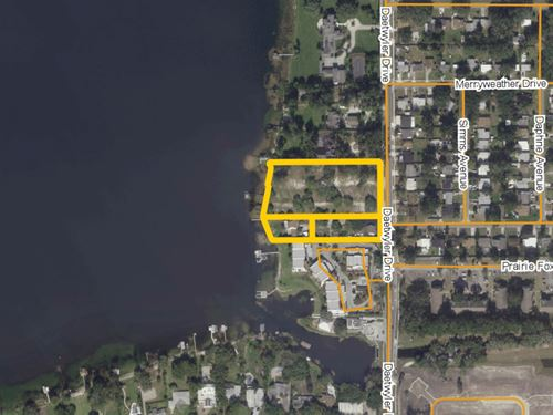 Infill Residential Lakefront Land : Belle Isle : Orange County : Florida