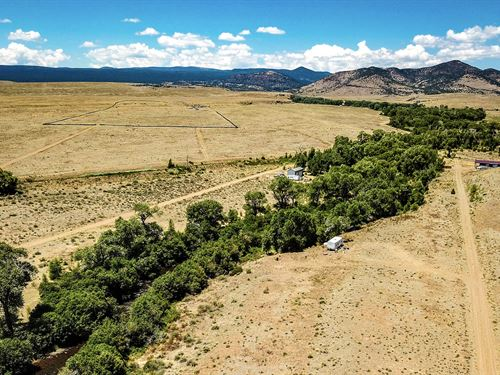 Lot Near River And National Forest : Capulin : Conejos County : Colorado