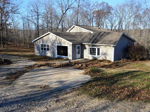 Residential Home on 5.15 Acres For : Wappapello : Wayne County : Missouri
