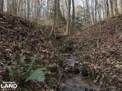 Greenville Mountain Homesite : Marietta : Greenville County : South Carolina