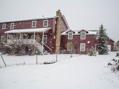Country Living Home, 20 Acres : Cedaredge : Delta County : Colorado