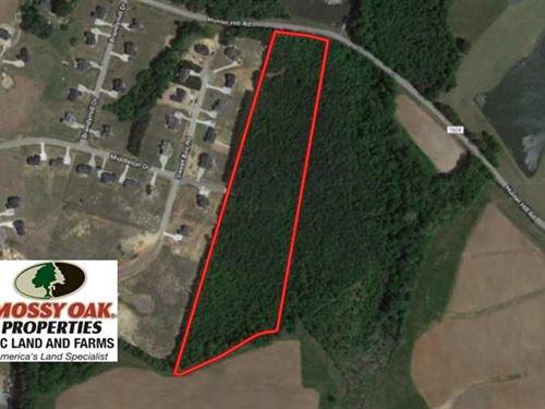 Reduced, 12.52 Acres of Recreatio : Rocky Mount : Nash County : North Carolina