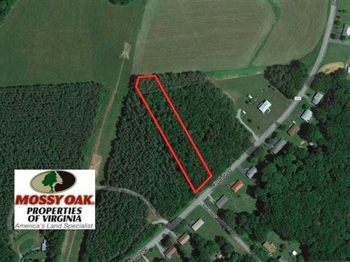 1.6 Acres of Residential Hunting : Hurt : Pittsylvania County : Virginia