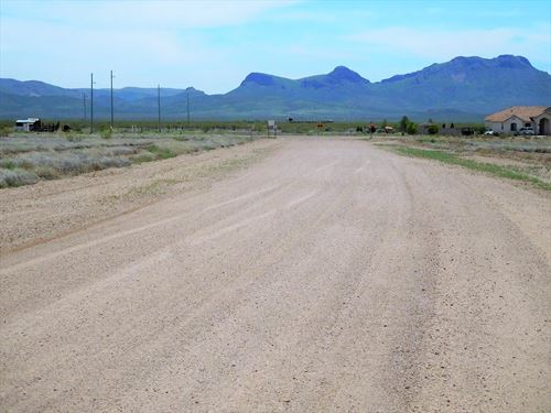 Beautiful Lot With Great Views : Douglas : Cochise County : Arizona