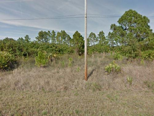 Lee Co, Fl, .25 Ac, $17,500 Neg : Lehigh Acres : Lee County : Florida