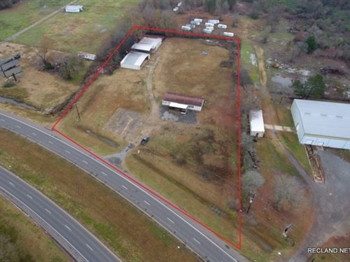 4 Ac, Commercial Tract With Office : Bastrop : Morehouse Parish : Louisiana