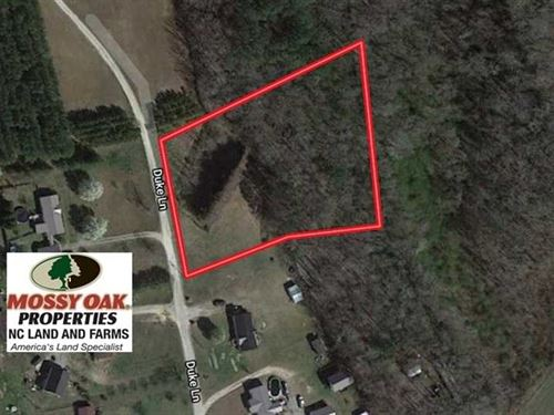 2 Acres of Residential Land With : Williamston : Martin County : North Carolina