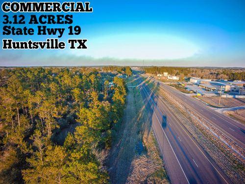 3.12 Acres In Walker County : Huntsville : Walker County : Texas