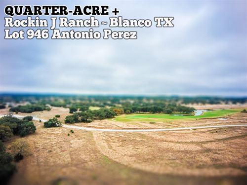 .28 Acres In Blanco County : Blanco : Texas