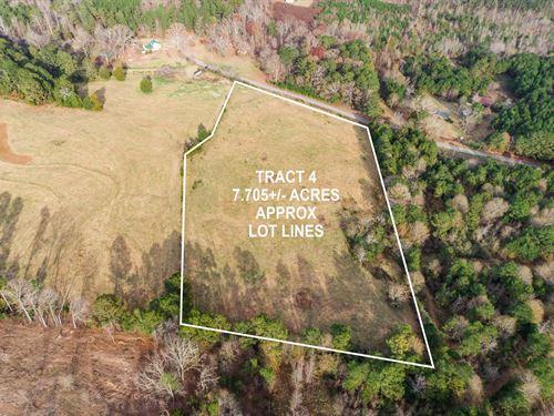 7+ Acre Private Home Site : Covington : Walton County : Georgia