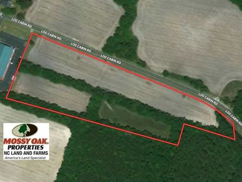 11 Acres of Farm And Hunting Land : Laurinburg : Scotland County : North Carolina