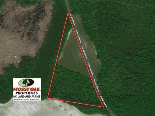 9 Acres of Farm And Hunting Land : Laurinburg : Scotland County : North Carolina