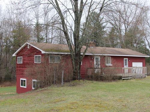 Country Home 2 Acres Atlanta MI : Atlanta : Montmorency County : Michigan