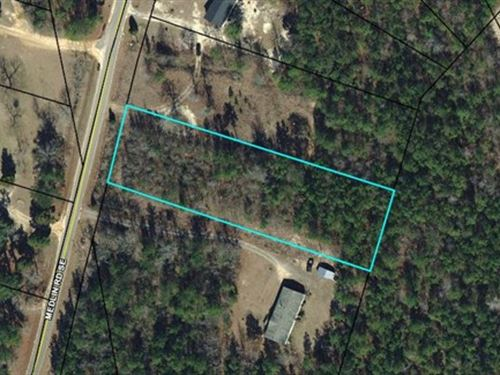 1 Ac Home Site, Awesome Location : Milledgeville : Baldwin County : Georgia