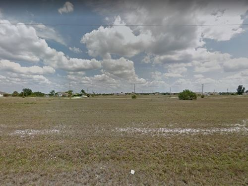 Lee County, Fl $25,000 Neg : Cape Coral : Lee County : Florida