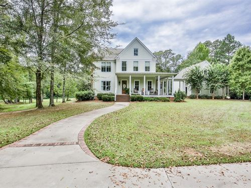 Distinctive Country Home : Milledgeville : Baldwin County : Georgia