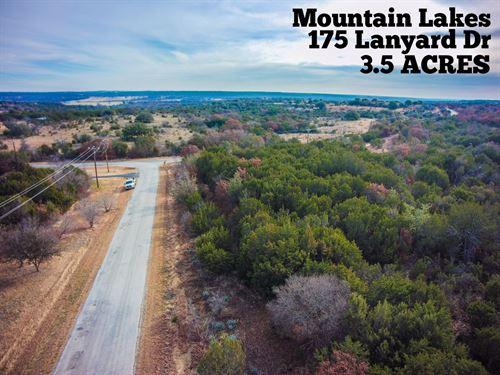 3.50 Acres In Erath County : Bluff Dale : Erath County : Texas