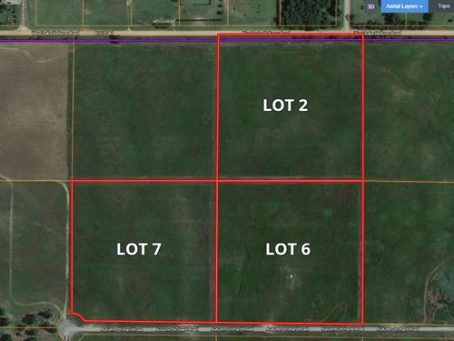 10 Acre Building Tracts : Enid : Garfield County : Oklahoma