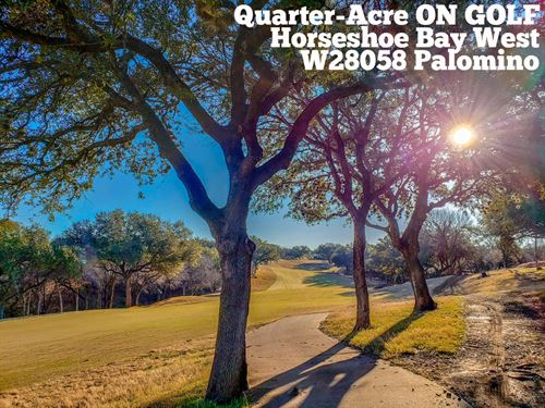 .28 Acres In Llano County : Horseshoe Bay : Llano County : Texas