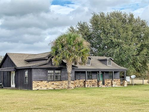 Equine Property Home Barn, Trenton : Trenton : Levy County : Florida