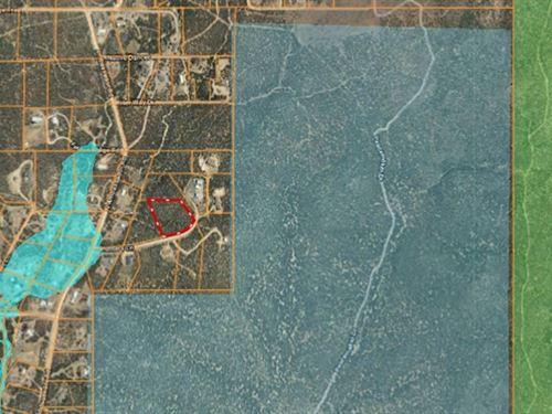 Country Home Building Site : Dewey-Humboldt : Yavapai County : Arizona