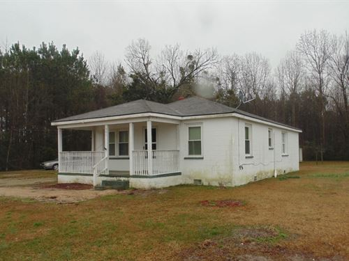 Affordable Home on 2 Acres : Ahoskie : Hertford County : North Carolina