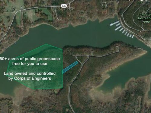 Greers Ferry Lake Lot For Sale : Clinton : Van Buren County : Arkansas