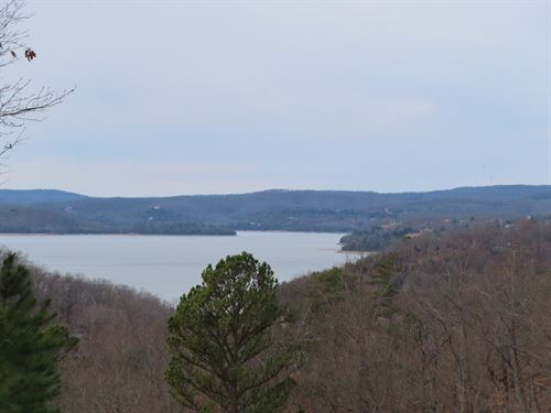Lake View Lots For Sale in AR : Eureka Springs : Carroll County : Arkansas