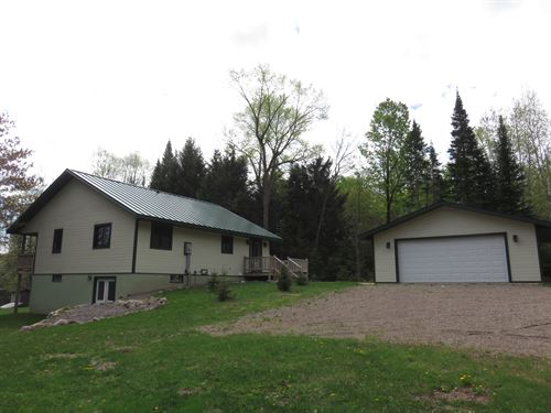 Completely Remodeled Cute Cabin : Winchester : Vilas County : Wisconsin