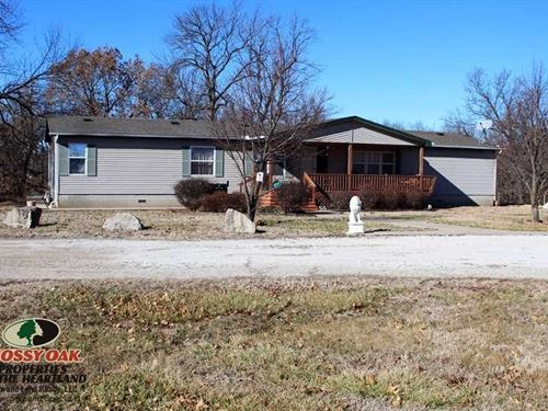 11 Acres With Home And Shop : Altoona : Wilson County : Kansas