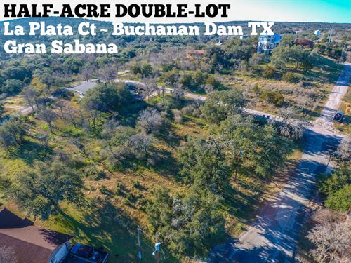 .54 Acres In Llano County : Buchanan Dam : Llano County : Texas