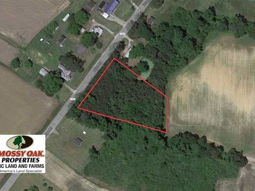 1.65 Acre Residential Lot For Sale : Hookerton : Lenoir County : North Carolina