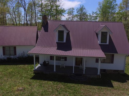 Secluded Central Kentucky Home : Liberty : Casey County : Kentucky