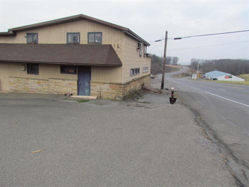 Great Commercial Property Busy Hwy : Danville : Northumberland County : Pennsylvania