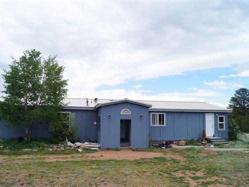 House Acreage Guffey, Colorado : Guffey : Park County : Colorado