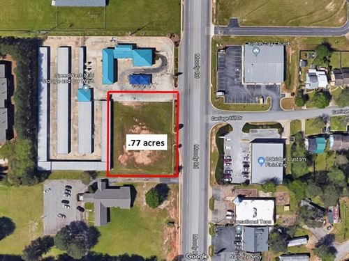 Commercial Lot Ready To Build On : Warner Robins : Houston County : Georgia