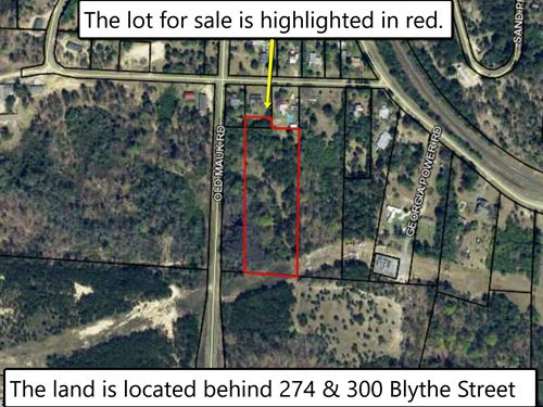 4 Acre Property Is Being Sold For O : Junction City : Talbot County : Georgia
