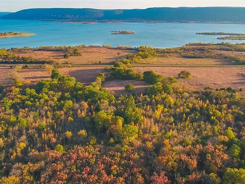 Oklahoma Lake View Lot For Sale : Yanush : Latimer County : Oklahoma