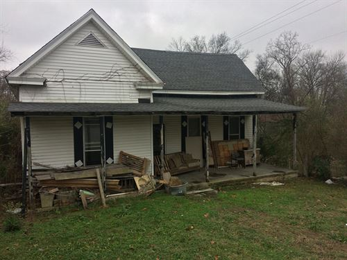 Handyman Investment Property : Centerville : Hickman County : Tennessee
