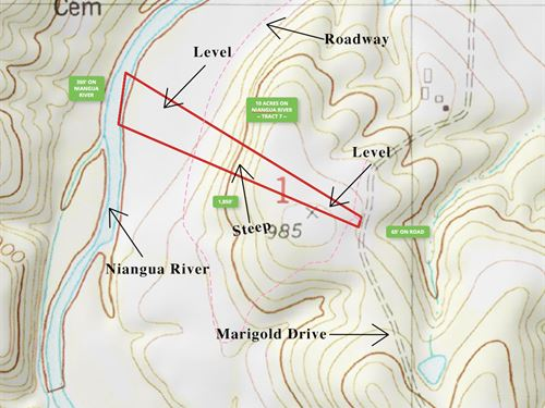 10 Acres On Niangua River Must See : Lebanon : Laclede County : Missouri
