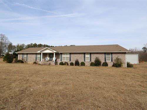 5.96 Acres, Home & Shop : Odenville : Saint Clair County : Alabama