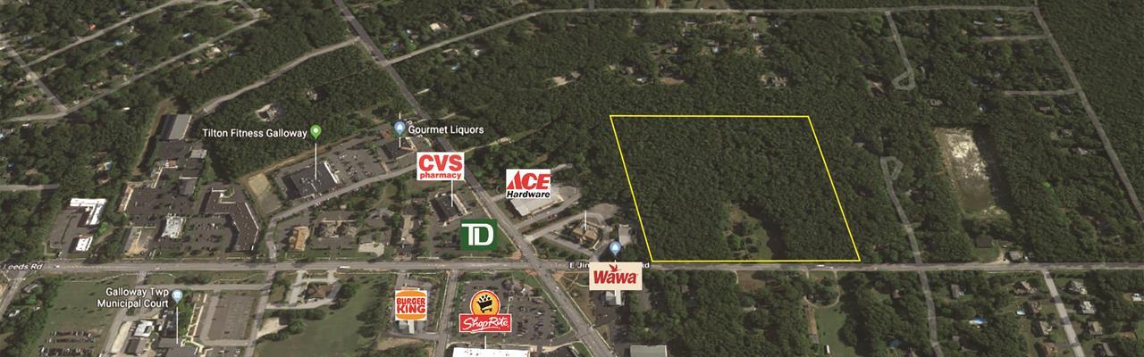 15.38+/- Acre Development Site : Galloway : Atlantic County : New Jersey
