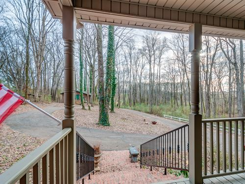 Wooded, Private With Custom Home : Columbia : Maury County : Tennessee