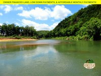 River Rat Property With Clearing : Tecumseh : Ozark County : Missouri