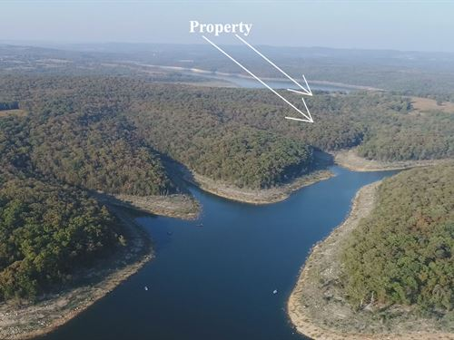 10 Acres On Bull Shoals Lake : Branson : Taney County : Missouri