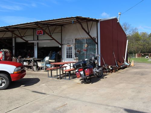Productive Tire Shop & Home NE : Clarksville : Red River County : Texas
