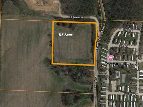 Price Reduced, 8 Acres M/L Bui : Independence : Jackson County : Missouri