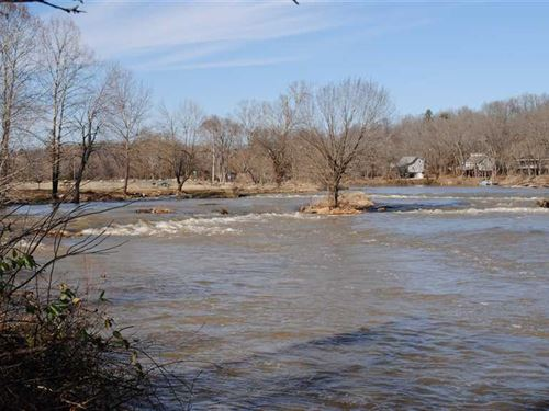 Spring River Lot Overlooking The : Hardy : Sharp County : Arkansas
